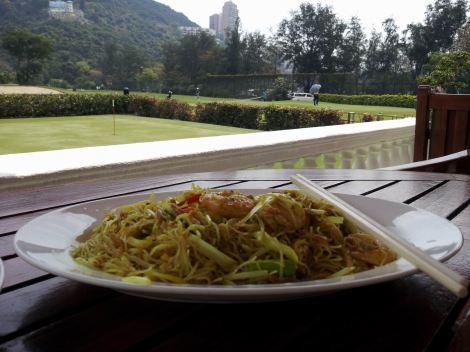 Singapore Noodles - not authentically Singaporean, but still gosh darn wonderful