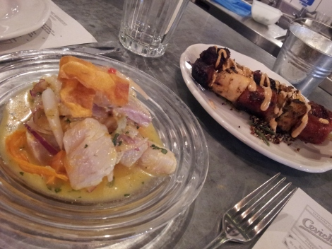 Don Ceviche and his companions, Pulpo y Chorizo