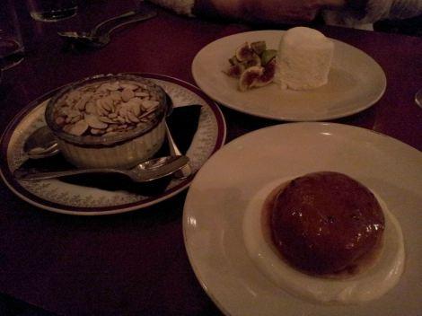 Green Man & French Horn dessert