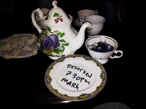 Cocktails in a teapot. Something for all the family (granny included)