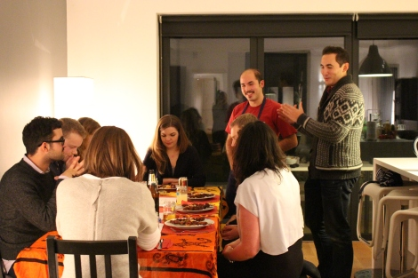 The Adobros in action at one of their supper clubs. Photo credit: Cristina Chacon