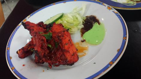 At least the tikka was the right colour