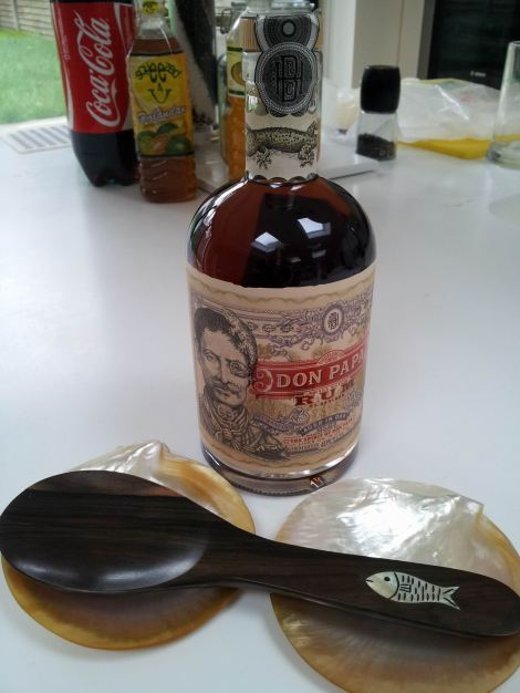 Welcoming Don Papa to our humble abode in London