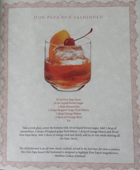 Don Papa Old-Fashioned
