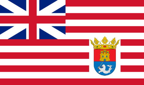 The flag of the Philippines under the British East India Company?